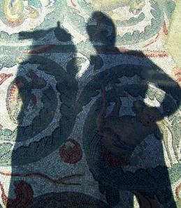 Mosaicos em Villa del Casale