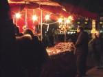 A feira, o torrone tradicional